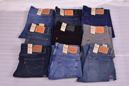 Men's Levi's 559 Relaxed Fit Straight Leg Stretch Jeans - Choose Color & Size