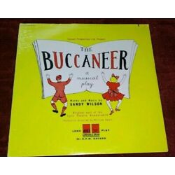 THE BUCCANEER A Musical Play LP Sandy Wilson NEW STILL SEALED!!