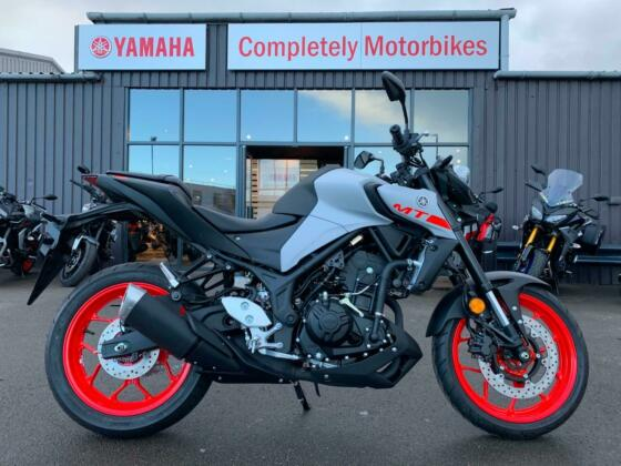 YAMAHA MT03 - NEW 2020 MODEL - FINANCE AVAILABLE 2.9% APR TYPICAL