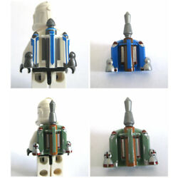 Kyпить Custom PRINTED JET PACK for Minifigures -Star Wars Clones -Pick your Color!  на еВаy.соm