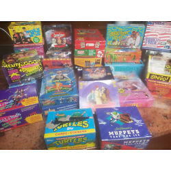 Kyпить 128  Packs Vintage Assorted Non Sports Trading Card Packs – Less Than $.31 Each на еВаy.соm