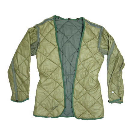 img-Czech Army Surplus Quilted Jacket Parka Liner