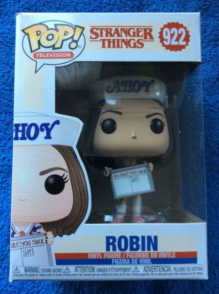 Funko Pop Vinyl Figure Television: Stranger Things - Robin Ahoy #922