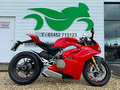 DUCATI PANIGALE V4 S 2018 68 REG - ONE OWNER - ONLY 2652 MILES!!