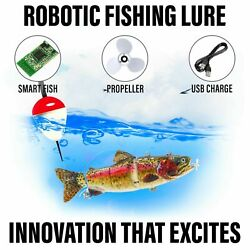 Kyпить Electric Live bait, Robotic Fishing Lure - Animated Swimming Wobbler - Bass Bait на еВаy.соm