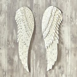 Kyпить Heavenly Angel Metal Wings - Religious Hanging Wall Decor - 2 Pieces на еВаy.соm