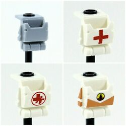 Kyпить Custom Clone OPEN BACKPACK for Minifigures -Star Wars -Pick your Color!  на еВаy.соm