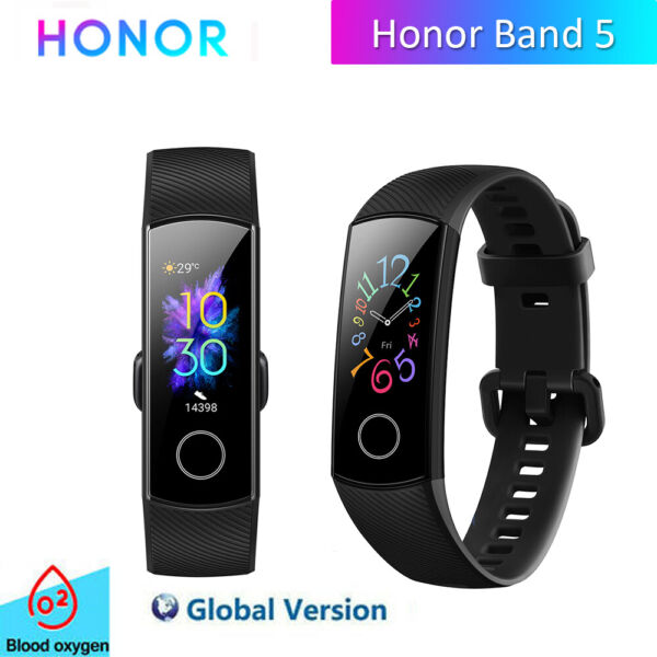 HUAWEI Honor Band 5 Smartwatch Fitness Tracker Pedometer Cardiofrequenzimetro IT