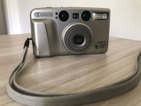 YASHICA EZ Zoom 105 38-105mm Analog Point And Shoot