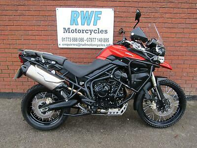 TRIUMPH TIGER 800 XC, 2011, 11 REG, ONLY 24,738 MILES, LOT'S OF EXTRAS