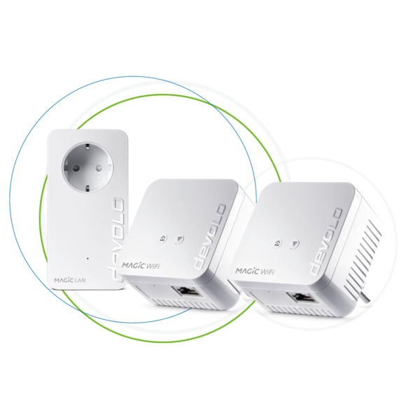 Sarstedt,Deutschlanddevolo Magic 1 - 1200 WiFi mini  Kit dLAN 2.0 (8570) [Kompaktes