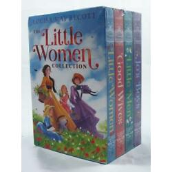 New Louisa May Alcott LITTLE WOMEN COLLECTION Complete Series Boxed Set 4 Books