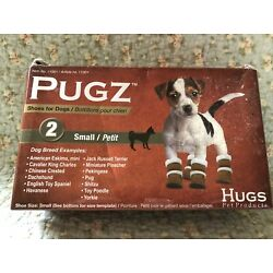Pugz Shoes for Dogs Size Small Faux Leather/Faux Wool 11001 Hugs Pet Products