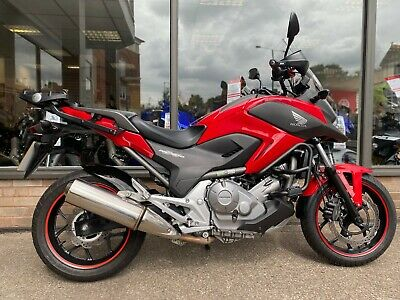 Honda NC700X ABS Red 2013 / 13 *FREE UK Mainland Delivery*
