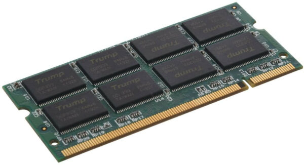 SODIAL(R) 1 GB RAM DDR PC2700 333MHz memoria NON-ECC DIMM PC 200 Pin Modulo Port