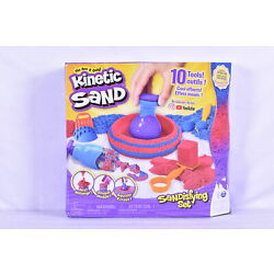 Kyпить Kinetic Sand Sandisfying Set with 10 Different Tools & 2lbs of Sand на еВаy.соm