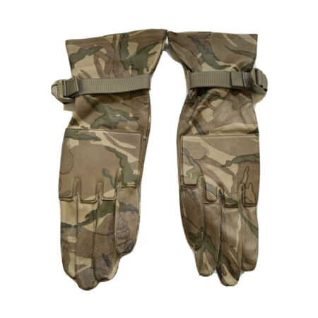 img-Genuine Ex Army MTP Combat Gloves Warm Weather Padded Knuckles Airsoft