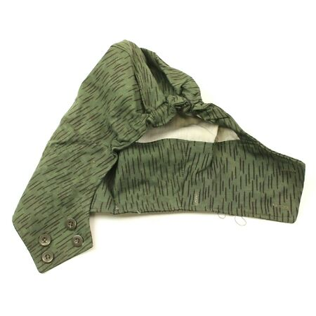 img-VINTAGE CZECH ARMY HOOD for COMBAT JACKET in M62 NEEDLE CAMO