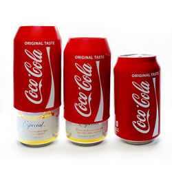 Kyпить Hide a beer,Silicone Beer Can Covers,Red Coca Cola Sleeve(3 Pack) на еВаy.соm