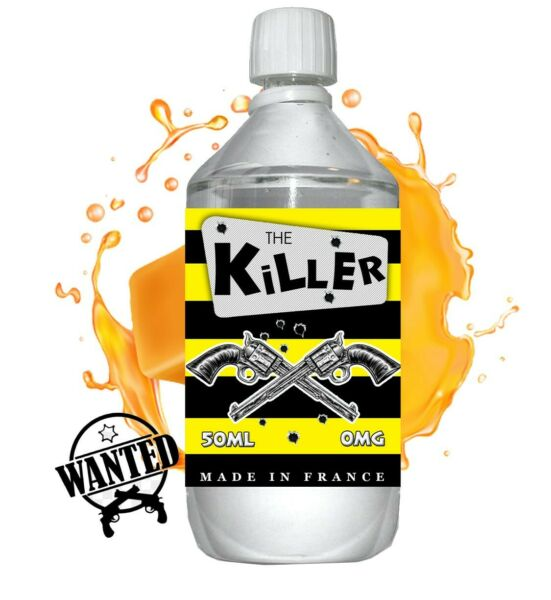 Annay la Côte,FranceE liquide The Killer - 1 l - 50/50 PG/VG - 1 000 ML - original blond noisette ca