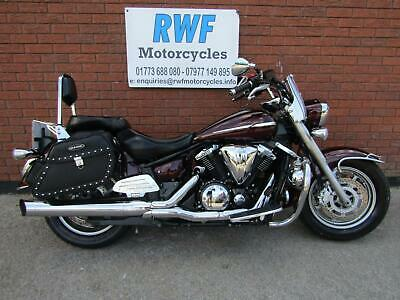 Yamaha XVS 1300 MIDNIGHT STAR, 2009, EXCELLENT COND, LOT'S OF EXTRAS, 35K