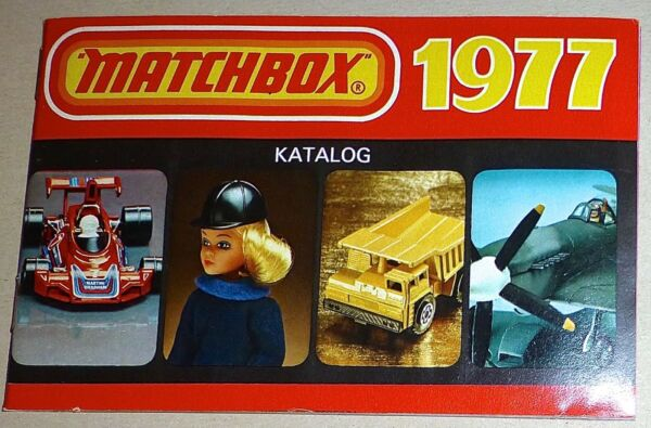 AllemagneMatchBox 1977 Catalogue Å