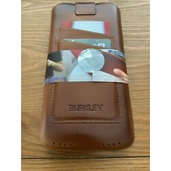 Burkley Genuine Leather Sleeve Case With Card Slots iPhone Plus/Max NEW IN BOX