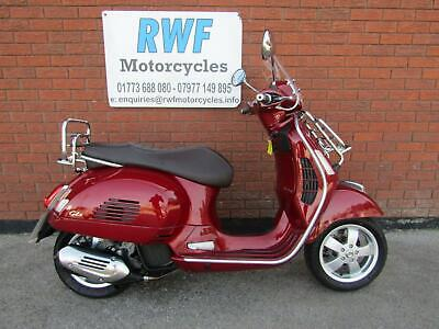 Piaggio Vespa GTS 125, 2018, ONLY 2 OWNERS & 853 MILES, MINT COND