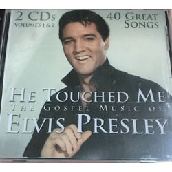 He Touched Me: The Gospel Music of Elvis Presley, 2 CDs *Sealed Shrink Wrapped *
