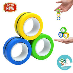 Kyпить 3x Relief Anti Stress Magnetic Rings Fidget Toy Game Focus Attention Training на еВаy.соm
