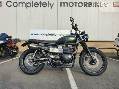 TRIUMPH STREET SCRAMBLER 2017 - VANCE and HINES 2 INTO 1 EXHAUST