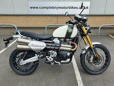 TRIUMPH SCRAMBLER 1200 XE 2019 WITH JUST 3485 MILES!!!