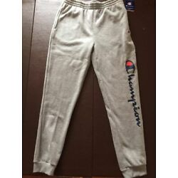 Kyпить NWT Boys Youth Champion Athletic Jogger Pants Light Gray Medium M NEW на еВаy.соm