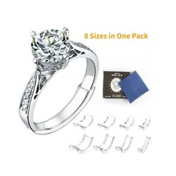 Kyпить 8 Pcs Ring Size Adjuster Invisible Clear Ring Sizer Jewelry Fit Reducer Guard US на еВаy.соm
