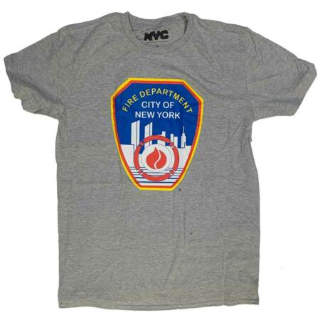 img-NYPD T Shirt - Fire Department Logo 100% Official