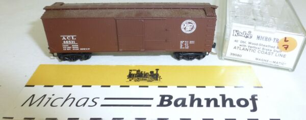 AllemagneMicro Trains 39080 Acl 46531 40' Wood Sheathed Boîte N 1:160  #07L Å