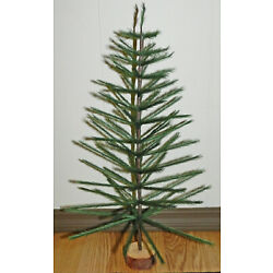 Kyпить GREEN FAUX GERMAN FEATHER TREE CHRISTMAS TABLETOP LIMITED QUANTITIES на еВаy.соm