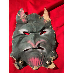 Vintage Kress five and dime Halloween Mask 1920 s-30 s