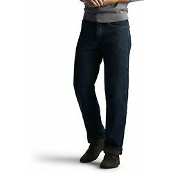 Kyпить Lee Men's Fleece and Flannel Lined Relaxed-Fit Straight-Leg Jeans на еВаy.соm