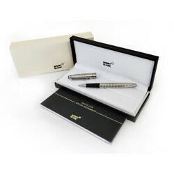 Kyпить Refurbished # Montblanc Meisterstuck Solitaire Platinum Plated Rollerball Pen на еВаy.соm