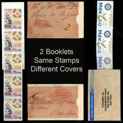 Kyпить (2) Mexico 1991 Columbus Texpex Overprinted Booklets 2 Different Covers на еВаy.соm
