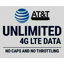 Kyпить  UNLIMITED 4G LTE DATA PLAN NO THROTTLING $99.99/MONTH на еВаy.соm