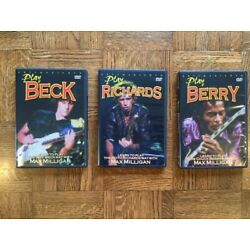 Kyпить 3 Instructional DVDs - Keith Richards, Jeff Beck & Chuck Berry на еВаy.соm