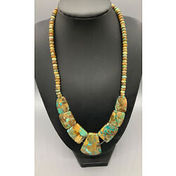 Kyпить Jay King Sterling Silver Turquoise Necklace на еВаy.соm