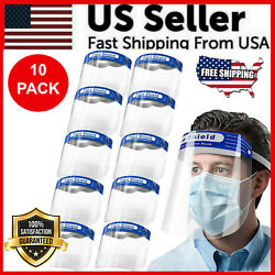 Kyпить 10-Pack Face Shield Reusable Washable Protection Cover Face Mask Anti-Splash USA на еВаy.соm