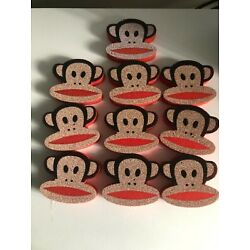 Kyпить PAUL FRANK COLLECTIBLE JULIUS,MONKEY HEAD FOAM,10 pcs,RARE,AUTHENTIC  на еВаy.соm