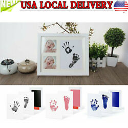 Kyпить Newborn Baby Handprint Footprint Imprint Clean-Touch Ink Pad Photo Frame Kit DIY на еВаy.соm