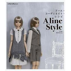 Doll Coordinate Recipe A line Style Suzuki Akane Clothes Dolly Dolly BOOKS Japan
