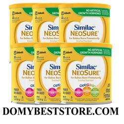 Kyпить Similac NeoSure Infant Formula Powder with Iron 13.1 oz (6 Pack) EXP 08/01/22 на еВаy.соm