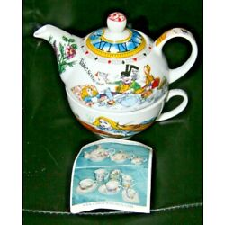 Alice in Wonderland Café Tea For One Set Paul Cardew New with Papers 2010